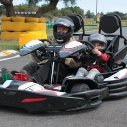 les karts biplace au karting hérault number one