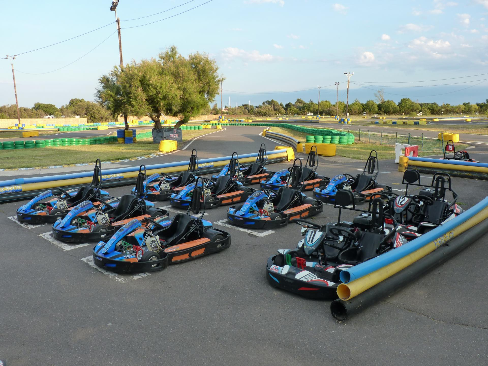 KARTS ENFANTS (7 -15 ans) au Karting Hérault NUMBER ONE